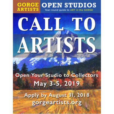 Apply Now To Participate In The 13th Annual Gorge Artists Open