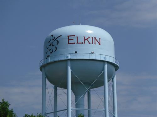 Elkin Water Tank