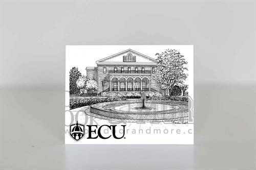 College Notecard - East Carolina University