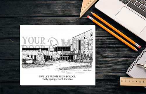 Local Notecard - Holly Springs High School