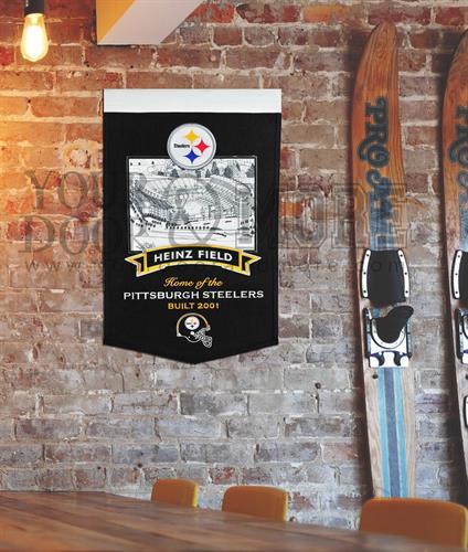 Stadium Banner - Heinz Field, Home of the Pittsburgh Steelers