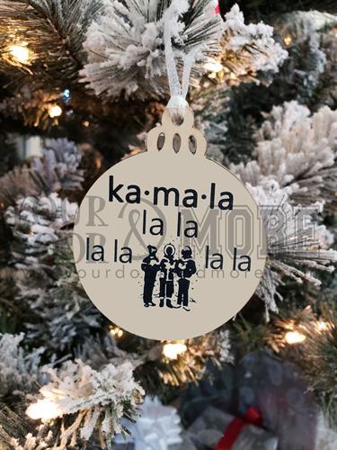 Christmas Ornaments - A 2020 favorite, celebrating Vice President Kamala Harris