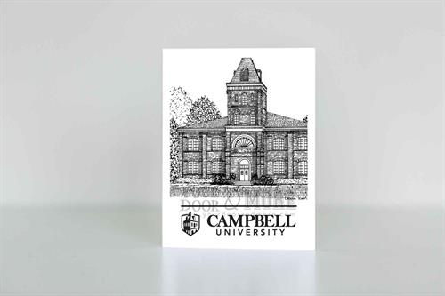 College Notecard - Campbell University