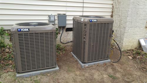 High efficiency heat pumps