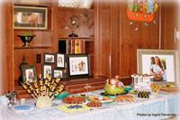 Boy Baby shower decoration and candy table