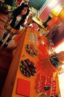 Birthday decoration and candy table