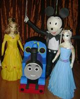 Character pinata for your birthday party or event
