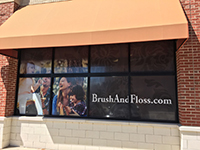 Window Graphics for Riccobene Associates Family Dentistry in Durham, NC