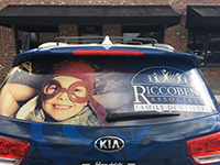 Riccobene - Partial Vehicle Wrap