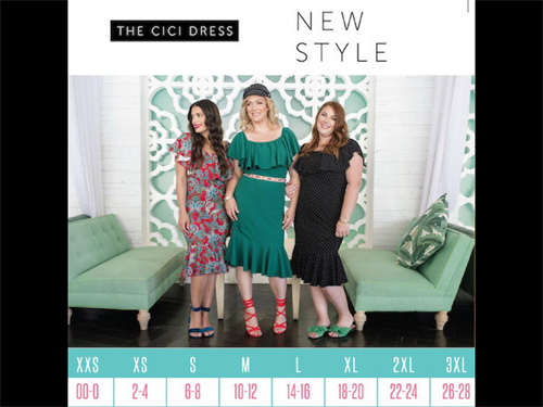 The CiCi Dress is one of the newest additions to the LuLaRoe Dress Collection