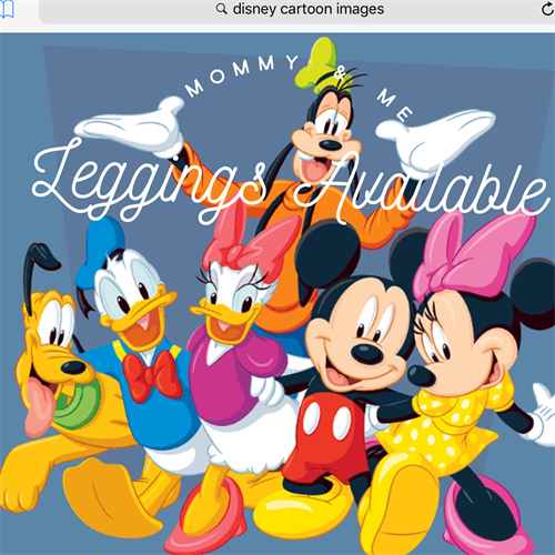 LuLaRoe Collection for Disney - leggings, tops and dresses for adults and children