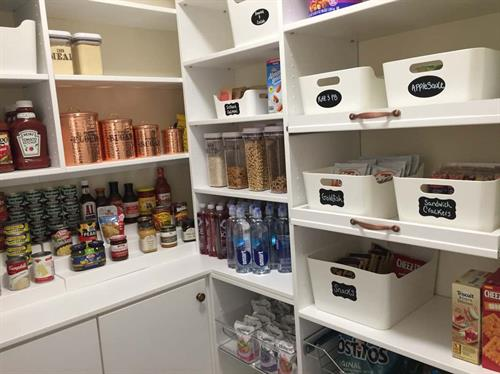 One of our favorite pantry projects!