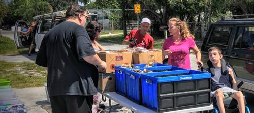 Messengers of Hope Mission food for families in need