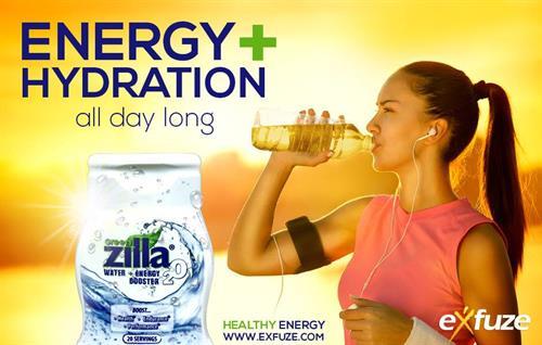 Energy + Hydration - Green Zilla