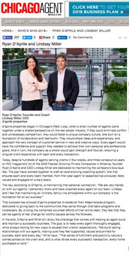 Chicago Agent Magazine