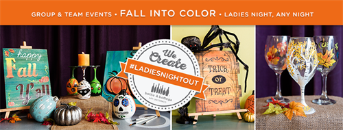 Fall is in the air! Come create some decor to spruce up your home or office!