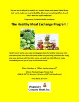 Check out our healthy food exchange program!