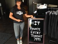 """We host private """"workout & wine"""" events."""