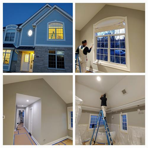 house painting downers grove, il