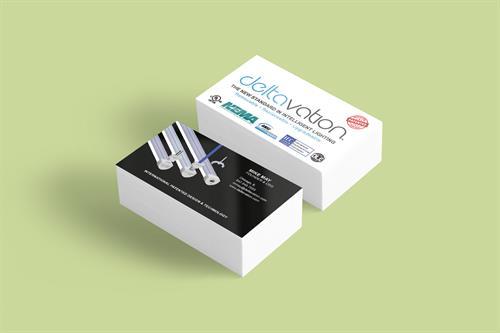 Business Card Design for Deltavation