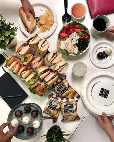 Let me make your life easier with Corner Bakery Catering