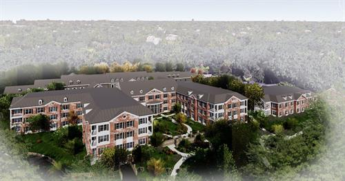 The Gardens of King-Bruwaert House will feature 49 spacious apartment homes with many amenities and services.