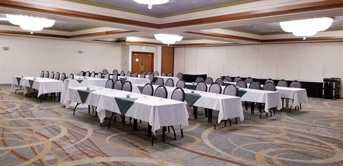 Corporate Meeting in our Newly Remodeled Ballroom