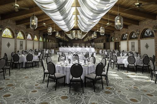 Terrace Ballroom offers a light and bright atmosphere perfect for showers, weddings, and all celebrations!