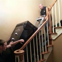 Upstairs safe delivery
