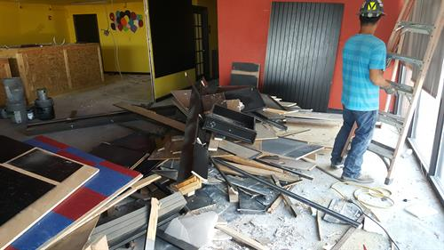 We are the GO TO team for your remodeling debris removal