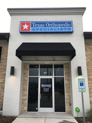 Texas Orthopedic Specialists Alliance Location