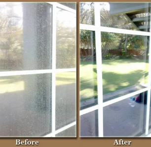 Before and After Images from a client - makes a difference!