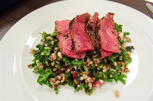 Steak and Grain Bowl