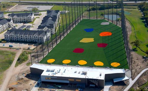 Aerial Photo - BigShots Golf - Fort Worth