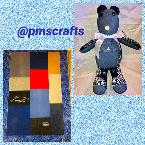 Bear and quilt