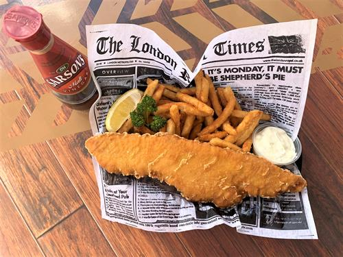 Revolution's Food Truck, Mr. Fred's Famous Fish & Chips
