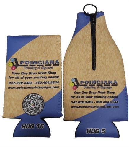 Poinciana Printing & Signage Koosie and Bottle hugger