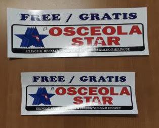 Osceola Star Decals