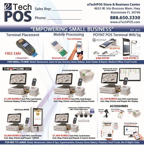 Promo Flyer POS Terminals