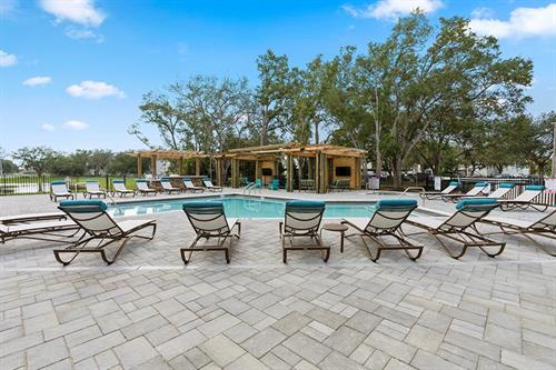 Our sparkling, resort-style pool will cool you off on those hot days!