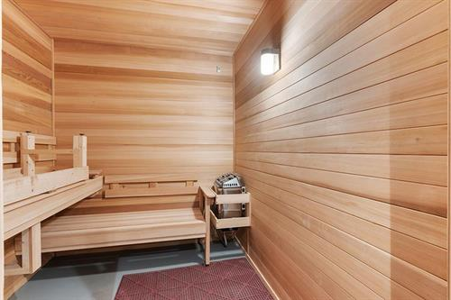 Our brand new his and hers saunas will keep your muscles relaxed after a great work out!