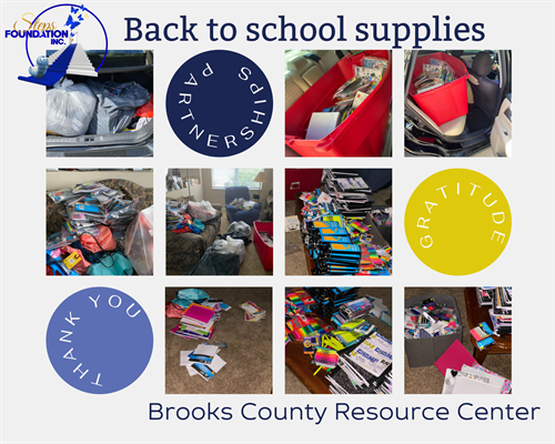 Steps Outreach - Back to School Drive
