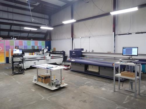 Vanguard, Colex, HP & Graphtec