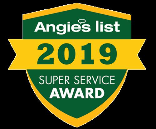 2019 Angie's List Super Service Award