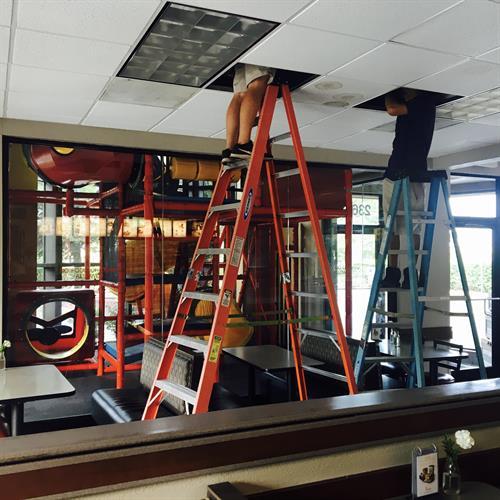 Duct Work Installation