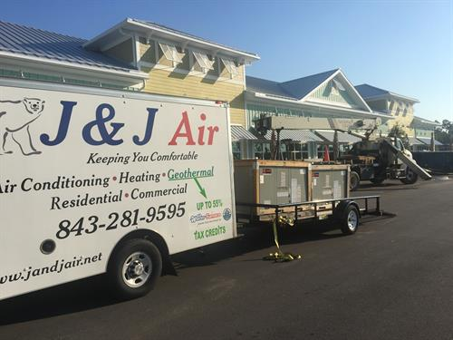 Commercial HVAC Construction