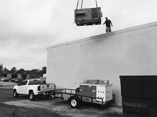Commercial Heating and Air Installation