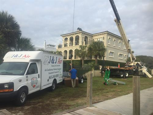 Geothermal Heating and Air System Installation