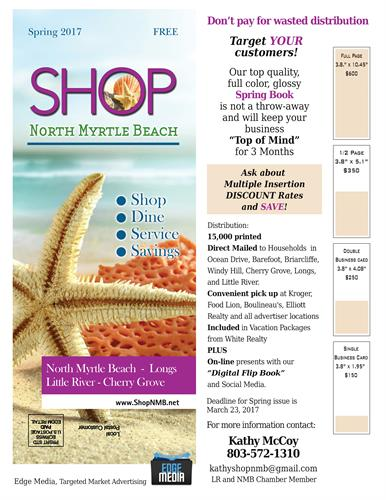 Shop NMB advertising Sales and Distribution Sheet