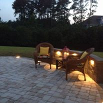Custom Patio & Lighting